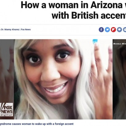【海外発!Breaking News】目覚めたらイギリス訛りの英語になっていた米女性 過去にはアイルランド・豪訛りも
