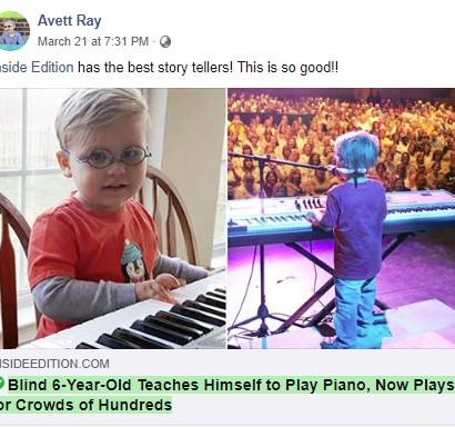 【海外発!Breaking News】視覚障害の6歳児、難曲『ボヘミアン・ラプソディ』をピアノで弾き語る姿が圧巻(米)<動画あり>