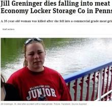 【海外発!Breaking News】食肉加工工場で35歳女性、肉挽き機に巻き込まれ死亡(米)