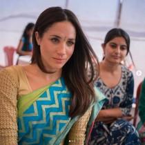 【イタすぎるセレブ達】メーガン妃、王室入り前に訪れたインドでのサリー姿が公開される<動画あり>