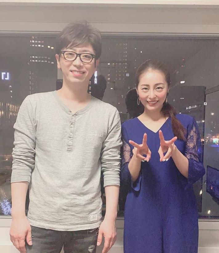 「売れても優しい後藤さん」と熊切あさ美(画像は『熊切あさ美 2019年4月18日付Instagram「久しぶりにフットの後藤さんと一緒にお仕事嬉しかったなー」』のスクリーンショット)