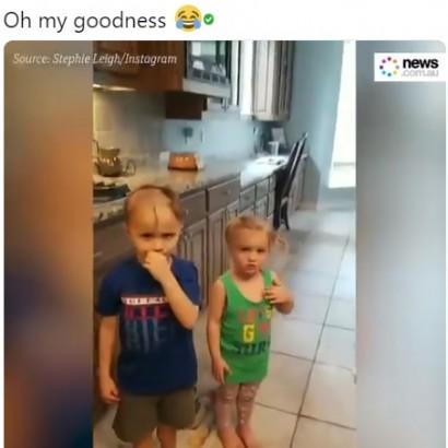 【海外発!Breaking News】電気シェーバーを見つけた兄妹、髪が大変な事に(米)<動画あり>