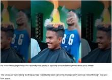 【海外発!Breaking News】立ち昇る炎で毛先ケア インドの美容院が衝撃的に熱い<動画あり>