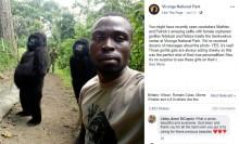 【海外発!Breaking News】「本物です!」 2頭のゴリラが飼育員とセルフィー(コンゴ民主共和国)
