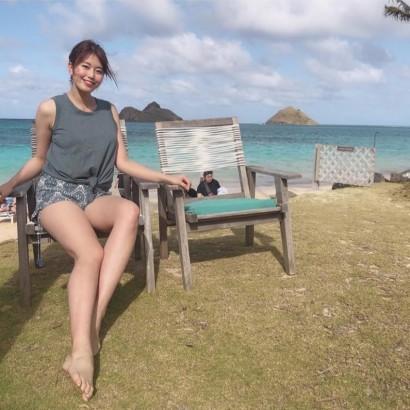 【エンタがビタミン♪】稲村亜美、ハワイで披露した「健康的かつセクシー」な生脚にファン釘付け