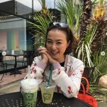 【エンタがビタミン♪】河野景子、娘と人気カフェでまったり 子供との時間が貴重なリラックスタイム