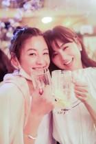 【エンタがビタミン♪】宇賀なつみアナ、親友・西山茉希とのほろ酔い姿に 「日本一酒が似合うアナウンサー」の声