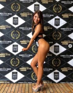 「サマー・スタイル・アワード2019」東京大会での西野未姫(画像は『西野未姫 2019年3月31日付Instagram「新しい自分発掘」』のスクリーンショット)