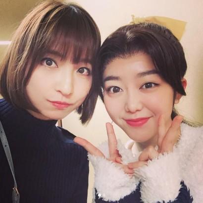 【エンタがビタミン♪】篠田麻里子、峯岸みなみ出演の舞台を鑑賞 「みいちゃん可愛かった」