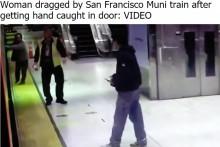 【海外発!Breaking News】電車ドアに手を挟まれた女性、引きずられホームとの隙間に転落(米)<動画あり>