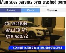 【海外発!Breaking News】「アダルトグッズを捨てられた」40歳息子、両親を訴える(米)