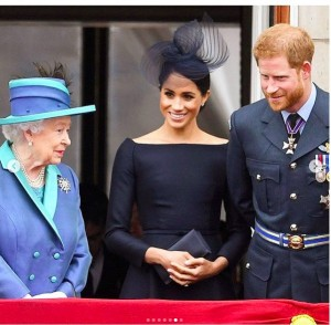 【イタすぎるセレブ達】ウィリアム王子夫妻だけじゃなかった! エリザベス女王もヘンリー王子夫妻の新居を訪問済み