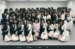 【エンタがビタミン♪】松井珠理奈×ラストアイドル コラボショットに時流の変化感じる