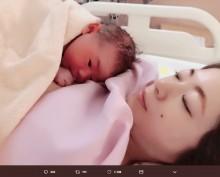 """【エンタがビタミン♪】元AKB48宇佐美友紀に""""令和ベビー""""誕生 「母子ともに元気です!!」"""