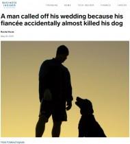 【海外発!Breaking News】独身最後のパーティーで飼い犬を危険な目に遭わせた女性が婚約を破棄される