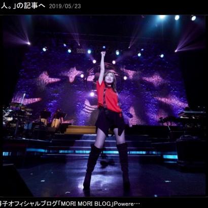 """【エンタがビタミン♪】森口博子、ライブステージの""""ベストショット""""に驚き 「菜々緒ちゃんかと思った」"""