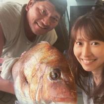 【エンタがビタミン♪】佐々木主浩氏の釣果を妻・榎本加奈子が報告 「相変わらずお綺麗」で鯛より目立つ結果に