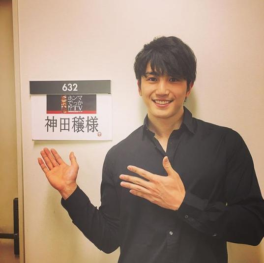 『ホンマでっか!?TV』に出演した神田穣(画像は『神田穣 2019年4月24日付Instagram「5/8(水)夜9時~放送のフジテレビ「ホンマでっか!?TV」に出演します」』のスクリーンショット)