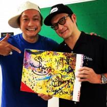 【エンタがビタミン♪】中村獅童が香取慎吾の個展を訪問「果てしなき才能」