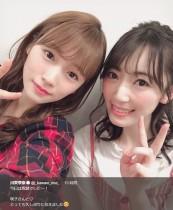 【エンタがビタミン♪】川栄李奈×松井咲子 元AKB48再会ショットに「卒業したら綺麗になる説」