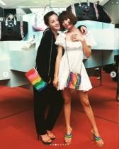 【エンタがビタミン♪】西山茉希&山田優、偶然のリンクコーデ披露 「こんな友達同士でいたい」羨望の声