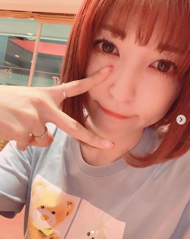 神田沙也加の「くまさんTシャツ」にも注目集まる(画像は『sayakakanda 2019年5月16日付Instagram「今日は遅くなっちゃったのでデニーズ行きました。」』のスクリーンショット)