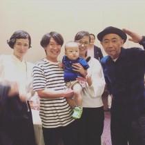 【エンタがビタミン♪】木梨憲武・安田成美が並ぶレアショット 「理想の先輩夫婦」と水内猛が公開
