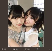 """【エンタがビタミン♪】AKB48高橋朱里""""卒業公演""""を受けて NMB48太田夢莉「兄貴 ご卒業おめでとうございます」"""
