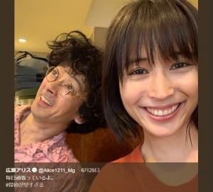 【エンタがビタミン♪】広瀬アリスに「疲れはててる?」の声 滝藤賢一との『探偵が早すぎる』2ショットで