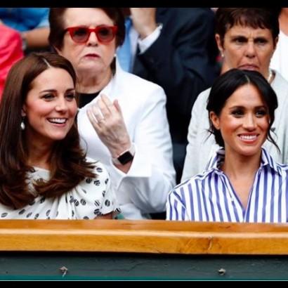 【イタすぎるセレブ達】メーガン妃、今年もウィンブルドン会場でセリーナ・ウィリアムズを応援か