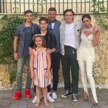 【イタすぎるセレブ達】ベッカム家、マイアミでのバケーション写真に「本当に素敵な家族」 羨望の声続出
