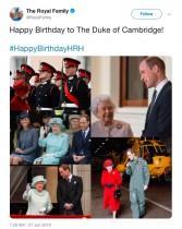 """【イタすぎるセレブ達】ヘンリー王子夫妻、ウィリアム王子誕生日の""""素っ気ないメッセージ""""で大バッシング"""