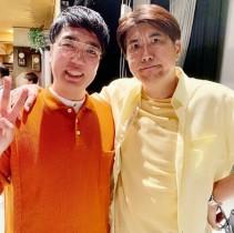 【エンタがビタミン♪】石橋貴明「小木は友達じゃない(笑)」と2ショット公開 「仲良しのくせに~」とファンがツッコミ