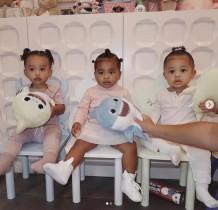 【イタすぎるセレブ達】カーダシアン&ジェンナー姉妹、娘達の3ショットが可愛すぎ 半日で450万超「いいね!」
