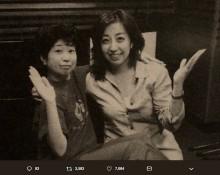 【エンタがビタミン♪】田中真弓&冨永みーな、30年前と今の2ショットに「変わらず可愛らしい!」の声