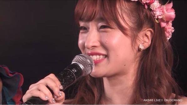 AKB48時代の梅田彩佳(画像は『梅田彩佳 2017年5月31日付Instagram「今日は私にとって大事な日。5月31日は私にとって第二の初日です。」』のスクリーンショット)