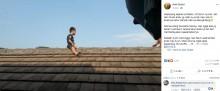 【海外発!Breaking News】割礼が「イヤ」 5歳男児、屋根の上に2時間居座る(インドネシア)