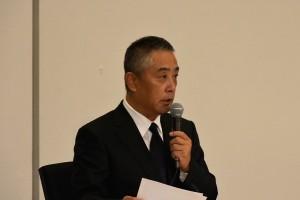 会見にて吉本・岡本昭彦社長
