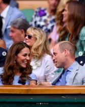 【イタすぎるセレブ達】キャサリン妃、ウィリアム王子とウィンブルドン観戦 夫妻のリンクコーデに称賛集まる