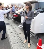 【エンタがビタミン♪】加藤綾子、選挙戦の取材ファッションに絶賛の声 「スタイル良すぎ!」「ジャケットはどちらの?」