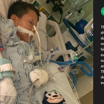 【海外発!Breaking News】隣人に手製花火を投げつけられた10歳男児、左手指を全て失う(米)