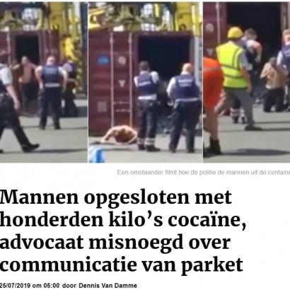 【海外発!Breaking News】死か監獄か? 薬物密売人、高温のコンテナに閉じ込められ究極の選択(ベルギー)