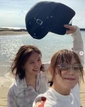 【エンタがビタミン♪】本田翼&大政絢、プライベート女子旅を満喫 屋久島でダイビング「海亀にも会えて幸せ」