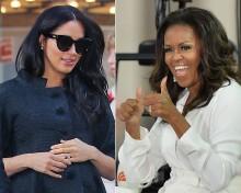 【イタすぎるセレブ達】メーガン妃、英版『VOGUE』でミシェル・オバマ元大統領夫人にインタビュー