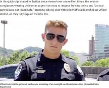 【海外発!Breaking News】署の動画に超イケメン警察官 「独身?」「どこをパトロールしてるの?」問い合わせ続々(米)<動画あり>