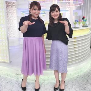 【エンタがビタミン♪】りんごちゃん『スッキリ』に登場 水卜麻美アナとの2ショットが似てる!?