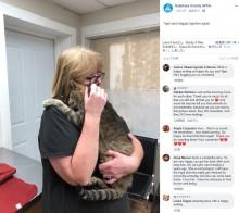 【海外発!Breaking News】11年間行方不明だった猫、マイクロチップにより無事飼い主のもとへ(米)