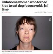 【海外発!Breaking News】飢えた我が子に犬の糞を与えた母親 逮捕も実刑免れる(米)