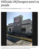 【海外発!Breaking News】「パテに人間の肉を使用」噂が広がった米ファストフードチェーンが異例の声明を発表