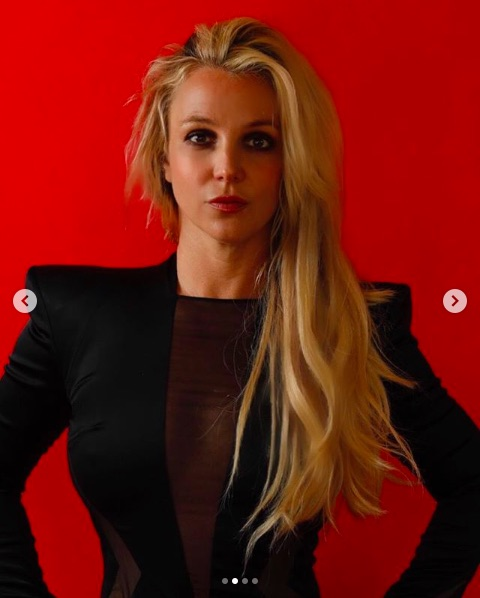 Instagramが大炎上したブリトニー(画像は『Britney Spears 2019年5月3日付Instagram「photo credit: @fiacuzziphotography」』のスクリーンショット)